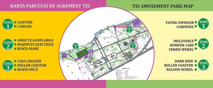 Harta Parcul De Agrement Tei